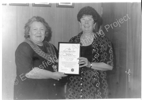 EPC Chairman's Community Achievement Award Presentation 1996