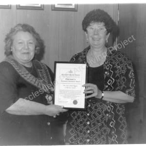 EPC Chairman's Community Achievement Award Presentation 1996