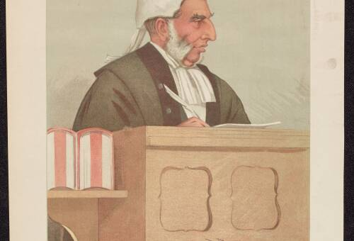 """A Hasty Judge"", Sir Arthur Kekewich, January 24, 1895"