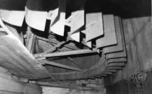 Ravensbury Mill: West waterwheel
