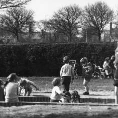 Children playing in Readhead Park