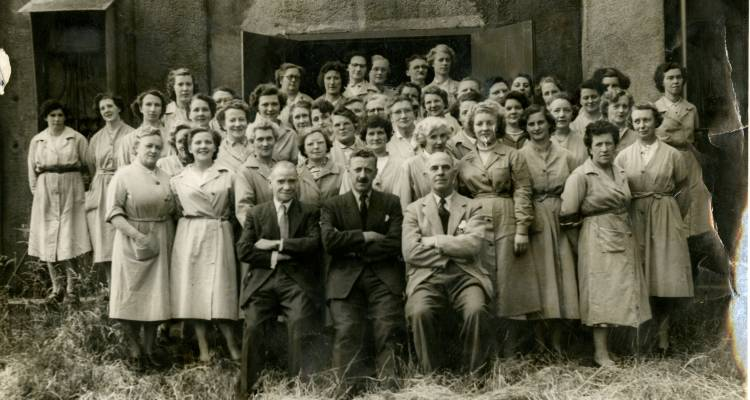 ROF Rotherwas munitions workers, 1947