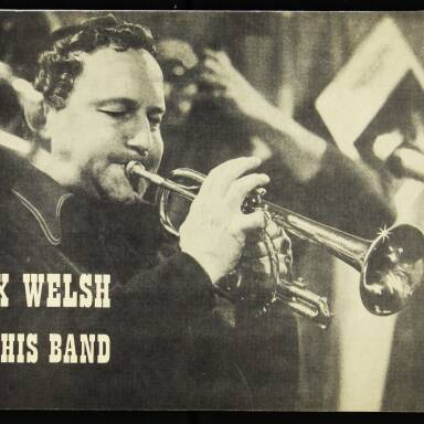Alex Welsh and his band - November 14th 1973