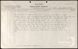 War Diary (Page 3) for 9th Battalion, East Surrey Regiment - 5 August 1917