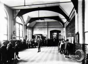 All Saints School, Wimbledon: Pupils in the Hall Area