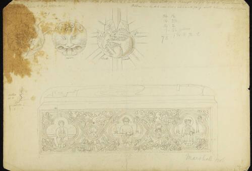 Page 3 of sketchbook 5
