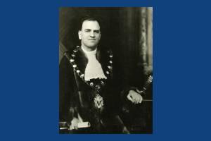 Councillor J M Davies, Mayor 1935-36