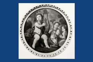 Circular paintings, Cannizaro House, Wimbledon