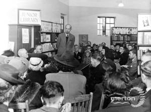 Colliers Wood Library: Official Opening