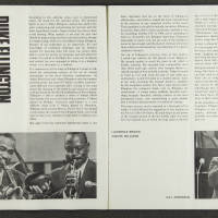 Duke Ellington Orchestra British Tour – 1965 003