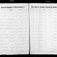 Burial Register 62 - November 1908 to April 1910