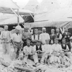 1890 J. B. Forder's Lime Works Workforce