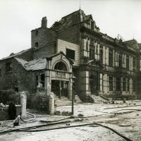 Bootle County Hall, bomb damage, Blitz
