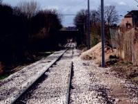 Tramlink tramline near Deer Park Road