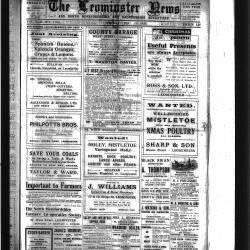 Leominster News - December 1922