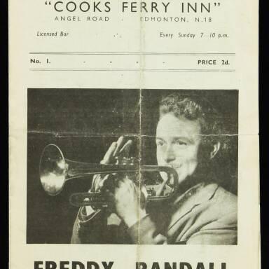 Freddy Randall and his Band, Cooks Ferry Inn, Edmonton - 1951