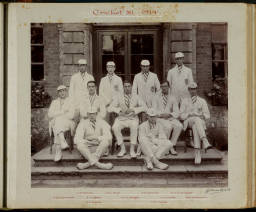 Photograph Album - 1911-1916_0028 Cricket XI 1914.jpg