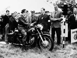 Motor Cycle Rally at Morden Hall Park