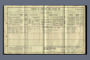 S Parr Census 1911 Quintin Avenue