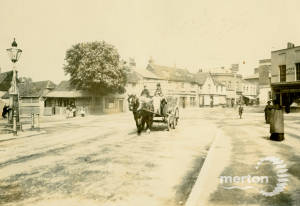 London Road, Mitcham: Includes Post Office and Bucks Head