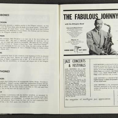 Duke Ellington Orchestra British Tour – October 1958 008