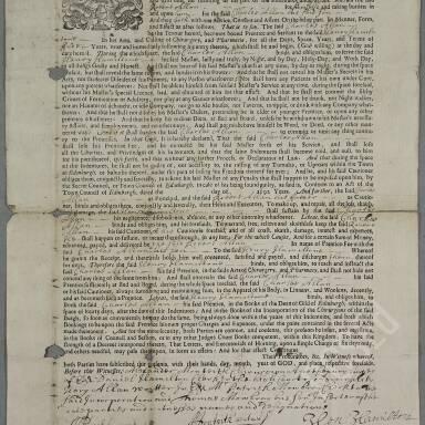 Apprenticeship Indentures, 1653-1872