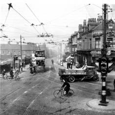 Chichester Junction prior to roundabout