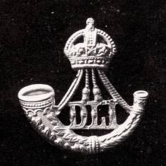 Cap badge, Durham Light Infantry