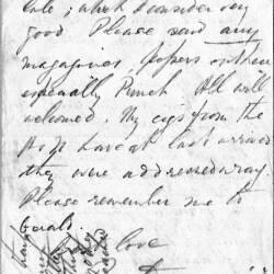 Ronald Craigie letters