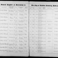 Burial Register 70 - November 1920 to August 1922
