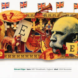 Sir Edward Elgar postcards