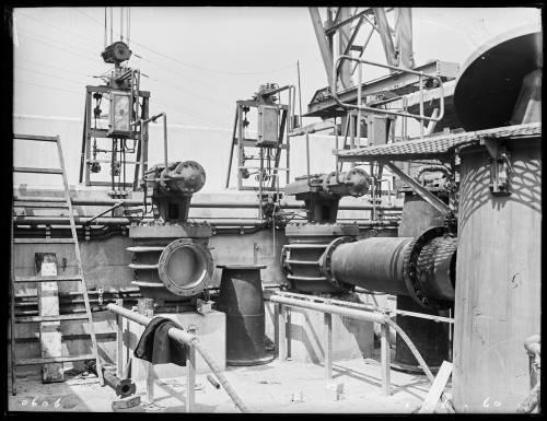 "102"" Tunnel main shaft site No.21 Lockwood Reservoir"