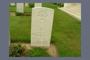 Gravestone of William Pearmain