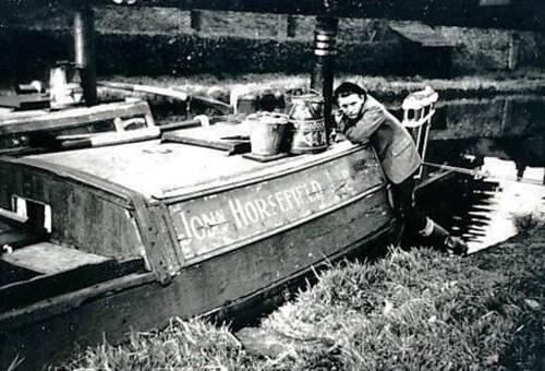 Horsefield  Boat, Lymm 1940