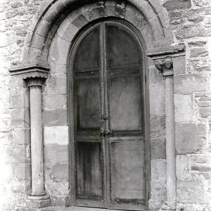 Acton Beauchamp Church Door, 1928