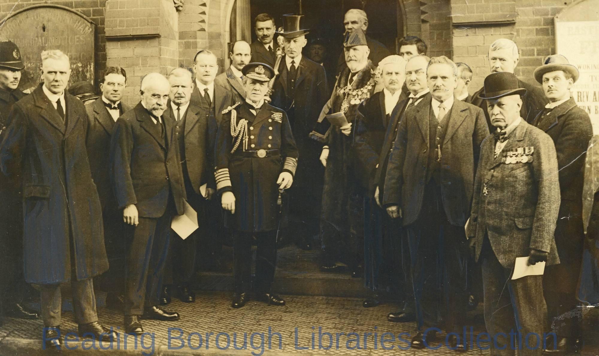 Wokingham War Memorial Dedication, 1924.