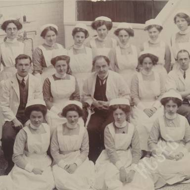 Charles Walker Cathcart and Surgical Team