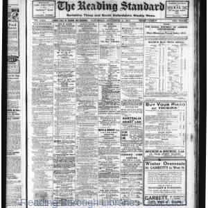Reading Standard Etc 11-1917