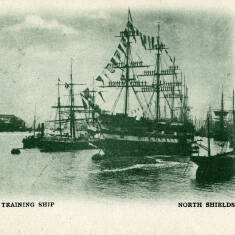 The Tyne Training Ship Wellesley