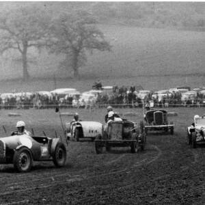 A country motor car race.