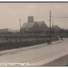 Church Bank & St Paul's, Jarrow