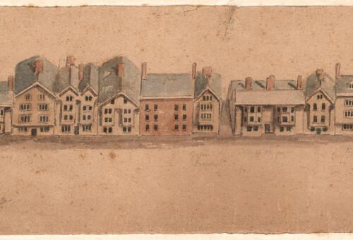 Exeter High Street, c1850, Exeter