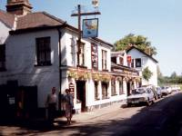 Wimbledon: Camp Road, Fox & Grapes pub