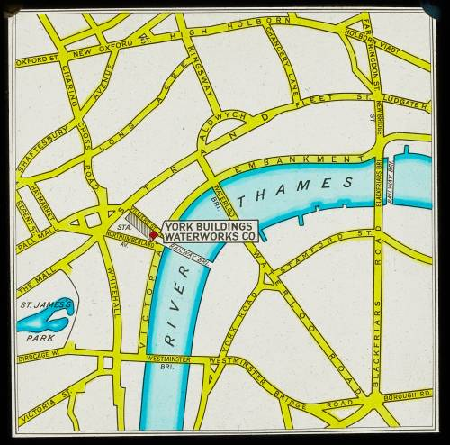 York buildings waterworks map