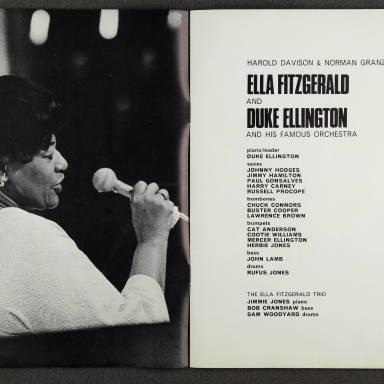 Ella Fitzgerald and Duke Ellington Orchestra – February  1967 002