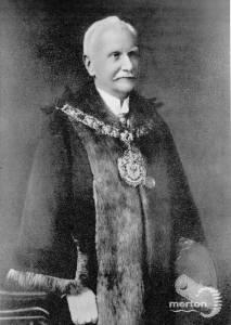 Alderman E.L.McSheeny,  Wimbledon councillor, 1911-13