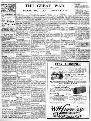 10 OCTOBER 1914