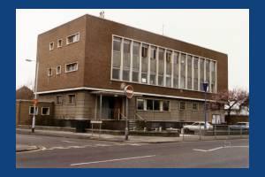 Mitcham Police Station, Cricket Green, Mitcham
