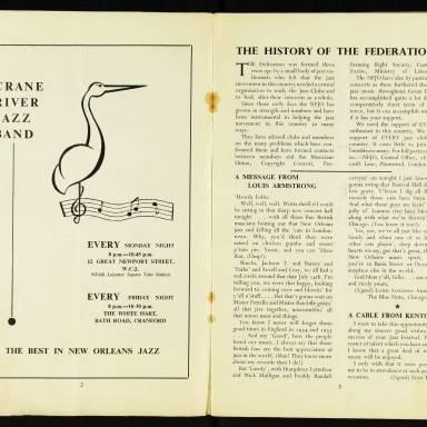 National Federation of Jazz Organisations, Royal Festival Hall - 1955 003