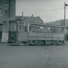Tram car at Chichester depot.